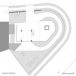 planta do nível térreo – pilotis varanda