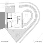 planta do nível superior – residência