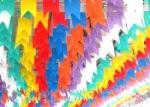 bandeirinhas de festa junina no rio grande do norte . foto - pintosabugi