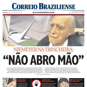 Niemeyer na trincheira