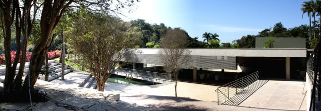 foto - fachada noroeste - acesso principal