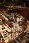 obra: armação do volume curvo
