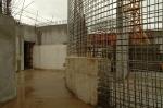 obra: execução de paredes internas dos pavimentos inferiores
