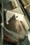 obra: concretagem da sala da oficina artística no subsolo