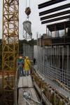 obra: betoneira de preparação do concreto