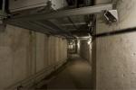 base equipamentos de ar condicionado na galeria técnica do subsolo