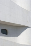 vista detalhe da abertura rampa