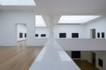 vista interna salas de exposição do 3º pavimento