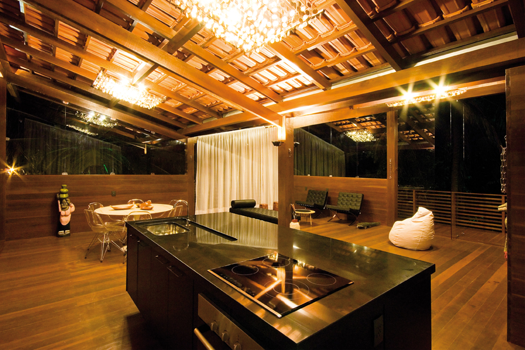 Casa tropical mundau ce mdc revista de arquitetura for Amazing tropical kitchen design