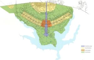 Fig.4 – Concepção Urbanística de Brasília