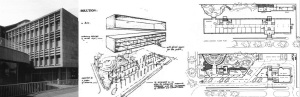 Helmut Stauch, National Meat Board Building, Pretoria, 1951.