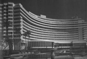 Morris Lapidus, Fontainebleau Hotel, Miami, 1952