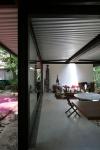 vista jardim e interior da casa