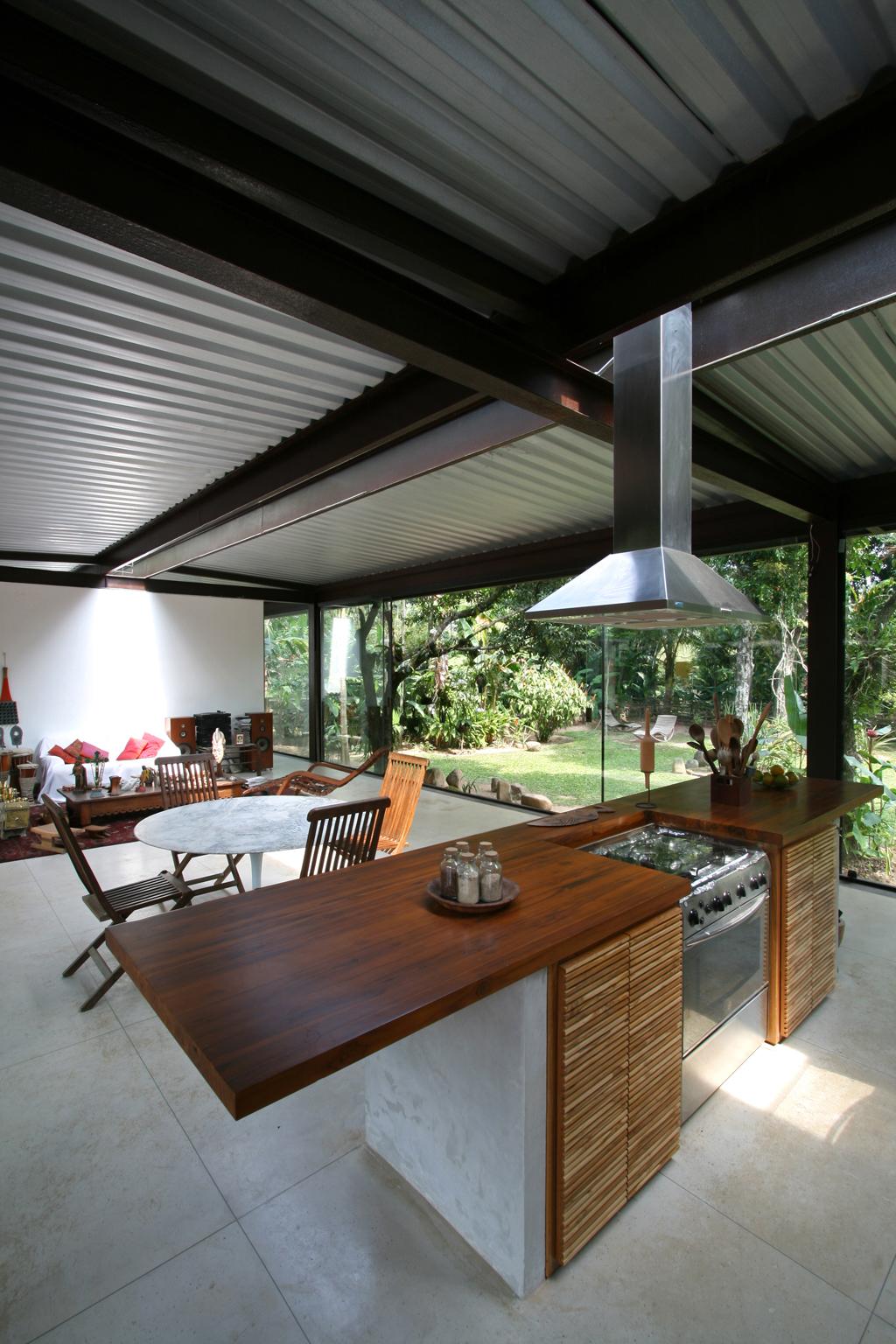 Casa Varanda – Rio de Janeiro – RJ » vista sala integrada a  #64432D 1024 1536