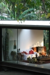 vista externa sala de estar