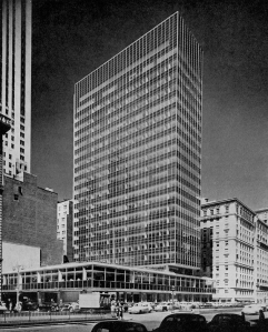 Gordon Bunshaft, Lever House, Nova York, 1952