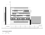 Desenho 14 - Fachada oeste
