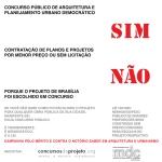 Concurso público de arquitetura e planejamento urbano democrático : SIM