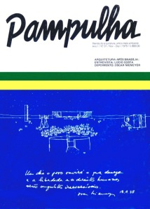 Capa do Primeiro exemplar da Revista Pampulha, 1979