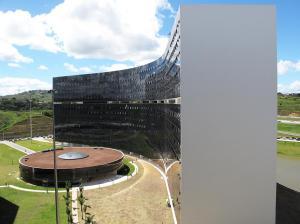Centro Administrativo de Minas Gerais. Belo Horizonte, Oscar Niemeyer, 2004. Foto: Danilo Matoso