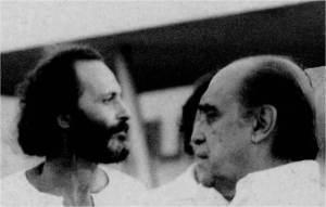 Oscar Niemeyer e José Eduardo Ferolla. Foto: Herbert Teixeira