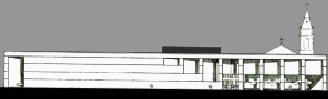 Projeto de Concurso para a Biblioteca Pública do Rio de Janeiro, José Eduardo Ferolla, Fernando M. G. Ramos, MIlton Castro, Thea Villas Boas., 1984