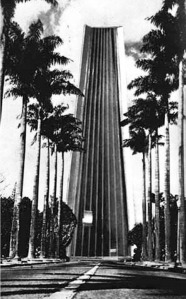 Projeto não realizado para o Palácio da Liberdade. Belo Horizonte, Oscar Niemeyer, 1968