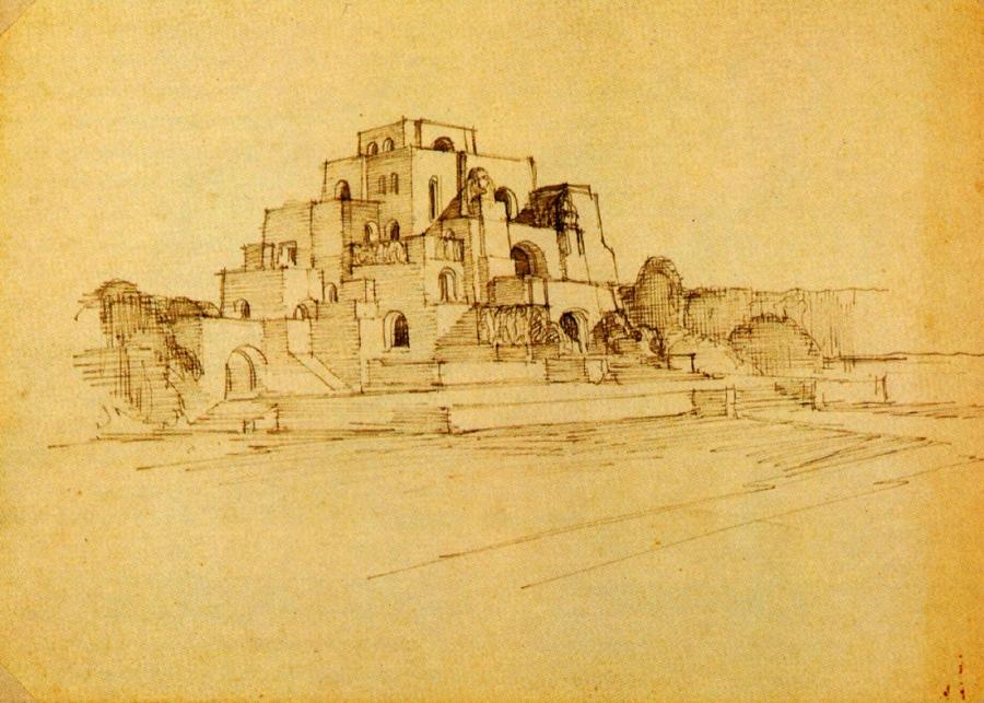 Templo, Antonio Garcia Moya, s.d.