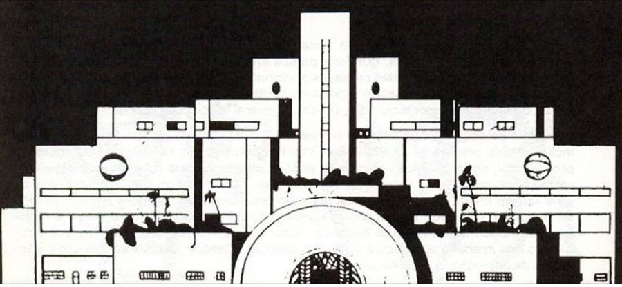 Palácio do Governo de São Paulo, Flávio de Carvalho, 1927.