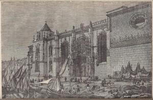 """""""Noticia Historica e Descriptiva do Mosteiro de Belem"""", Francisco Adolfo de Varnhagen, 1842."""